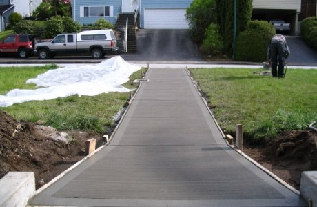 Concrete Sidewalks
